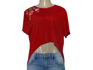 Blusa Feminina Coca-cola Clothing 343201943 Vermelho - Tamanho Médio