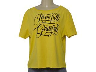 Blusa Feminina Coca-cola Clothing 343202027 Amarelo - Tamanho Médio