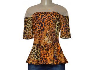 Blusa Feminina Coca-cola Clothing 363202966 Onca - Tamanho Médio