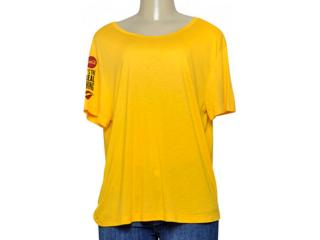 Blusa Feminina Coca-cola Clothing 343202020 Amarelo - Tamanho Médio