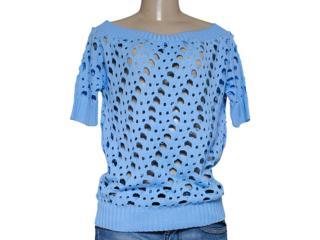 Blusa Feminina Dopping 015657525 Azul Claro - Tamanho Médio