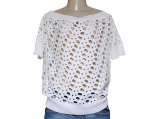 Blusa Feminina Dopping 015657525 Branco - Tamanho Médio