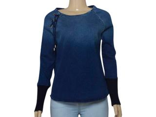 Blusa Feminina Index 05.04.000244 Jeans - Tamanho Médio