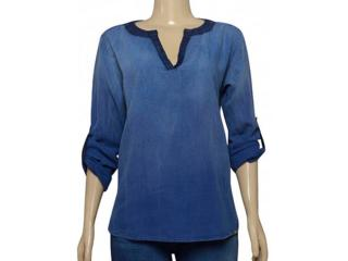 Blusa Feminina Index 05.04.000271 Jeans - Tamanho Médio