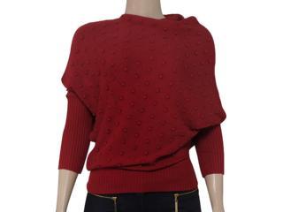 Blusa Feminina Intuição 133300 Vermelho - Tamanho Médio