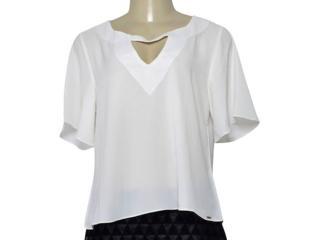 Blusa Feminina Lado Avesso 106427 Off White - Tamanho Médio