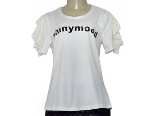 Blusa Feminina Lado Avesso 106403 Off White - Tamanho Médio