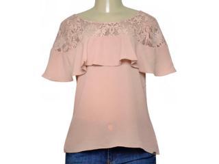Blusa Feminina Lado Avesso 105441 Rose - Tamanho Médio