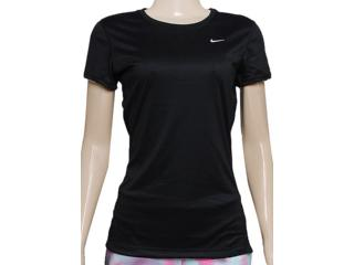 Blusa Feminina Nike 519829-010 Miler ss Preto - Tamanho Médio