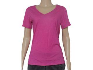 Blusa Feminina Nike 694363-694 Vneck Dfc ss  Pink - Tamanho Médio