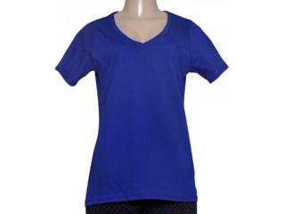 Blusa Feminina Nike 704298-455 Embroidered Swoosh  Royal - Tamanho Médio
