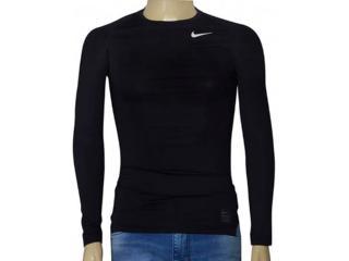 Blusa Masculina Nike 703088-010 Pro Combat Cool Compression  Preto - Tamanho Médio