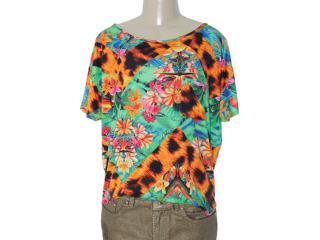 Blusa Feminina Coca-cola Clothing 343200773 Estampado Color - Tamanho Médio
