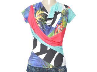Blusa Feminina Coca-cola Clothing 363202786 Multi - Tamanho Médio