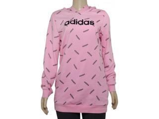 Blusão Feminino Adidas Dw8019  w Aop Hdy Rosa/preto - Tamanho Médio