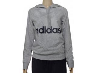 Feminino Blusão Adidas B47027 Ess Lin oh Mescla - Tamanho Médio