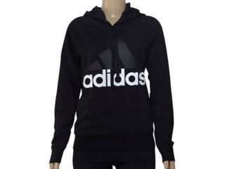 Blusão Feminino Adidas S97081 Ess Lin oh Preto - Tamanho Médio