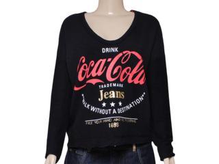 Blusão Feminino Coca-cola Clothing 403200211 Preto - Tamanho Médio