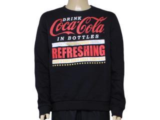 Blusão Masculino Coca-cola Clothing 413200230 Preto - Tamanho Médio