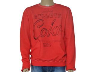 Blusão Masculino Coca-cola Clothing 413200217 Vermelho - Tamanho Médio