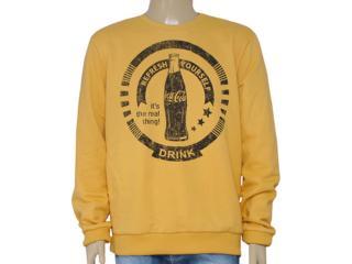 Blusão Masculino Coca-cola Clothing 413200238 Amarelo - Tamanho Médio