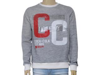 Blusão Masculino Coca-cola Clothing 413200241 Mescla - Tamanho Médio