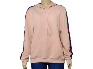 Blusão Feminino Coca-cola Clothing 405200016 Bege Escuro - Tamanho Médio