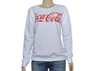 Blusão Feminino Coca-cola Clothing 403200282 Branco - Tamanho Médio