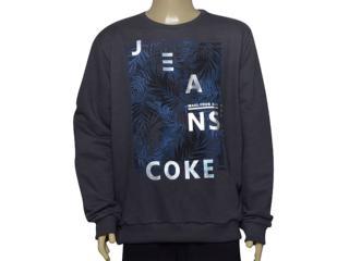 Blusão Masculino Coca-cola Clothing 413200262 Grafite - Tamanho Médio