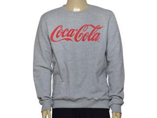 Blusão Masculino Coca-cola Clothing 413200259 Mescla - Tamanho Médio