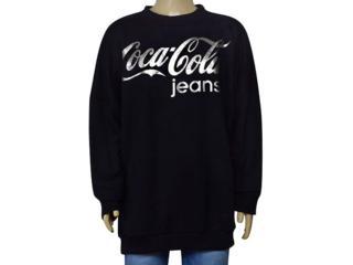 Masculino Blusão Coca-cola Clothing 273200003 Preto - Tamanho Médio