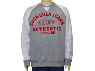 Blusão Masculino Coca-cola Clothing 413200260 Mescla - Tamanho Médio