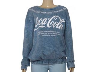 Blusão Feminino Coca-cola Clothing 403200273 Jeans - Tamanho Médio