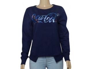Blusão Feminino Coca-cola Clothing 403200276 Marinho - Tamanho Médio