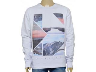 Blusão Masculino Dopping 15960036 Branco - Tamanho Médio
