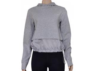 Blusão Feminino Nike 725718-063 Advance 15 Half-zip Cinza - Tamanho Médio
