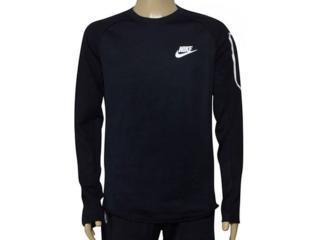 Blusão Masculino Nike 886792-010 m Nsw Av15 Top Flc Preto - Tamanho Médio