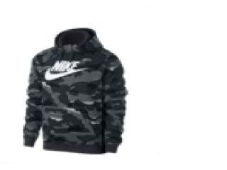 Blusão Masculino Nike Ar2867-065 Sportswear Camuflada Cinza/branco - Tamanho Médio