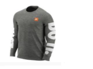 Camiseta Masculina Nike Ar5197-063 Sportswear Cinza - Tamanho Médio