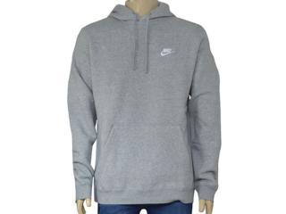 Blusão Masculino Nike 804346-063 Sportswear Hoodie Cinza - Tamanho Médio