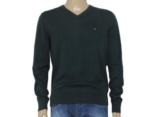 Blusão Masculino Tommy Th0857861905 Verde - Tamanho Médio