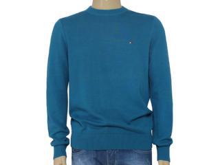 Blusão Masculino Tommy Th0857861891 Azul - Tamanho Médio