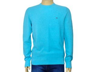 Blusão Masculino Tommy Thmw0mw06706 Azul Claro - Tamanho Médio