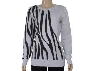 Blusão Feminino Zanatta 25041 Bege Zebra - Tamanho Médio