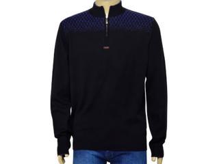 Blusão Masculino Zanatta 5603 Preto/azul - Tamanho Médio