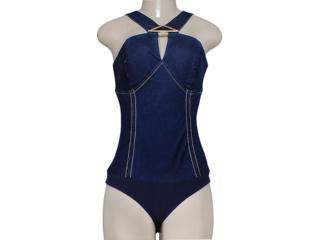 Body Feminino Dopping 016212501 Jeans - Tamanho Médio