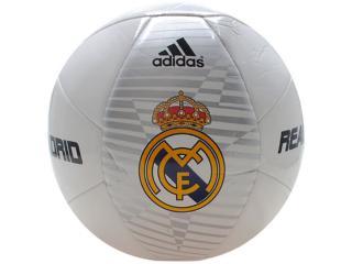 Bola Unisex Adidas F93732 Real Madrid Branco - Tamanho Médio