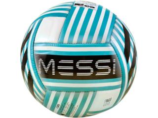 Bola Unisex Adidas Bq1364 Messi q3 Branco/azul/preto - Tamanho Médio