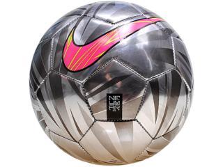 Bola Unisex Nike Sc2585-005 Neymar Prestige Prata - Tamanho Médio