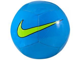 Bola Masculina Nike Sc3101-406 Ptch Training Azul/limão - Tamanho Médio